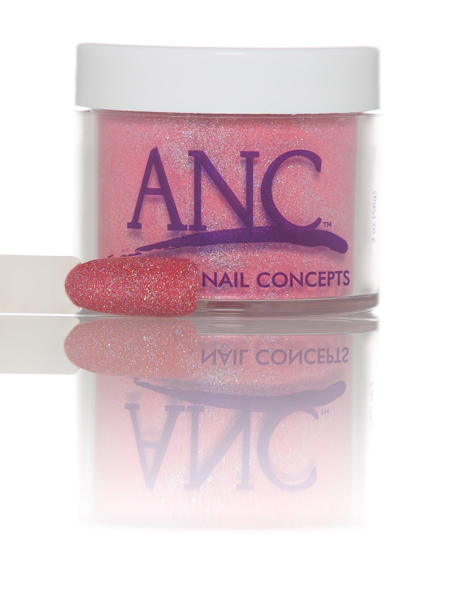 Red Glitter - 66 - Amazing Nail Concept Dip Powder