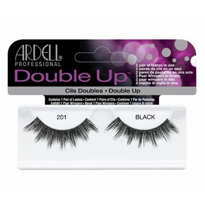 Ardell Double Up Lashes 201 Black - NAILMALL - Nail Supply Store Ardell
