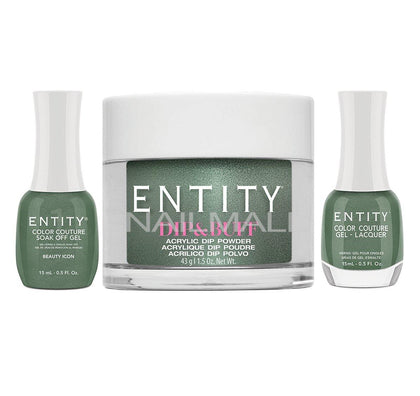 Entity Trio - Gel, Lacquer, & Dip Combo - BEAUTY ICON - 5401830