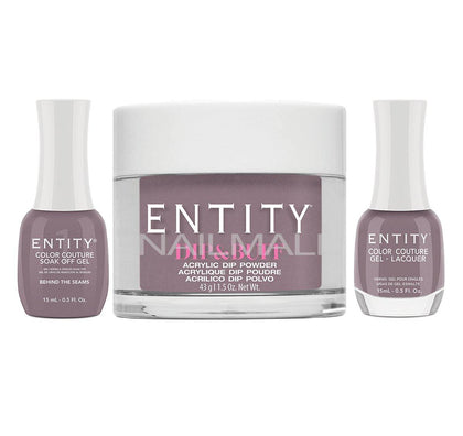Entity Trio - Gel, Lacquer, & Dip Combo - BEHIND THE SEAMS - 5401875