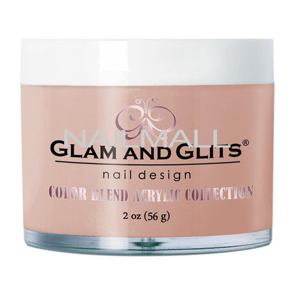 Glam and Glits - Color Blend Acrylic Powder - COVER - LIGHT BLUSH - BL3058