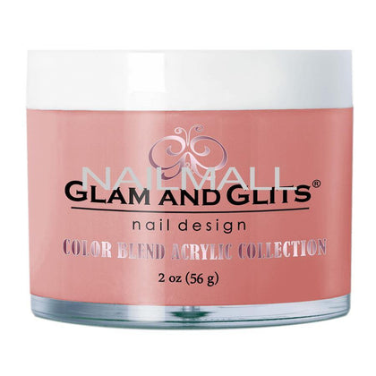 Glam and Glits - Color Blend Acrylic Powder - COVER - DARK BLUSH - BL3060