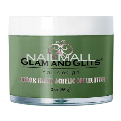 Glam and Glits - Color Blend Acrylic Powder - OLIVE YOU! - BL3070