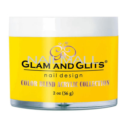 Glam and Glits - Color Blend Acrylic Powder - BEE MY HONEY - BL3076