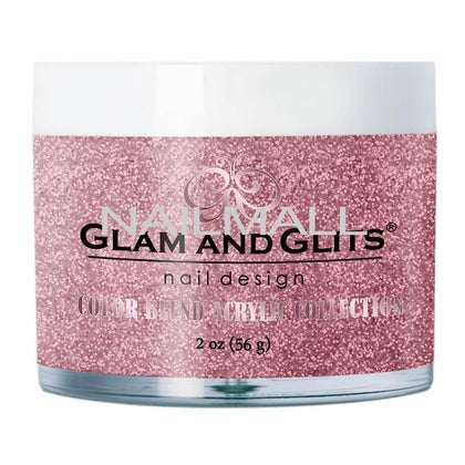 Glam and Glits - Color Blend Acrylic Powder - PINK MOSCATO - BL3095