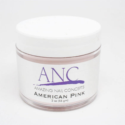 ANC American Pink Dip Powder - NAILMALL - Nail Supply Store ANC