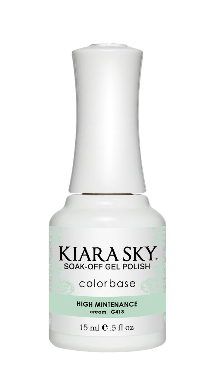 Kiara Sky Duo - Gel & Lacquer Combo - 413 HIGH MAINTENANCE