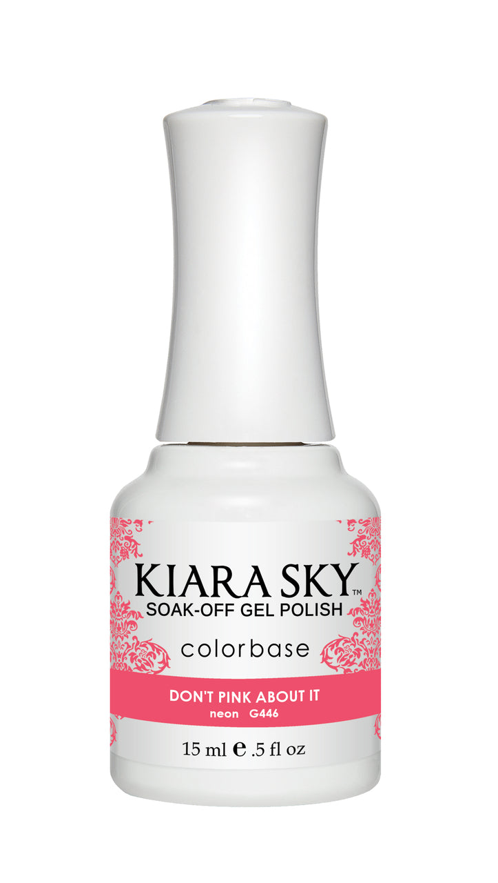 Kiara Sky Duo - Gel & Lacquer Combo - 446 DON'T PINK ABOUT IT