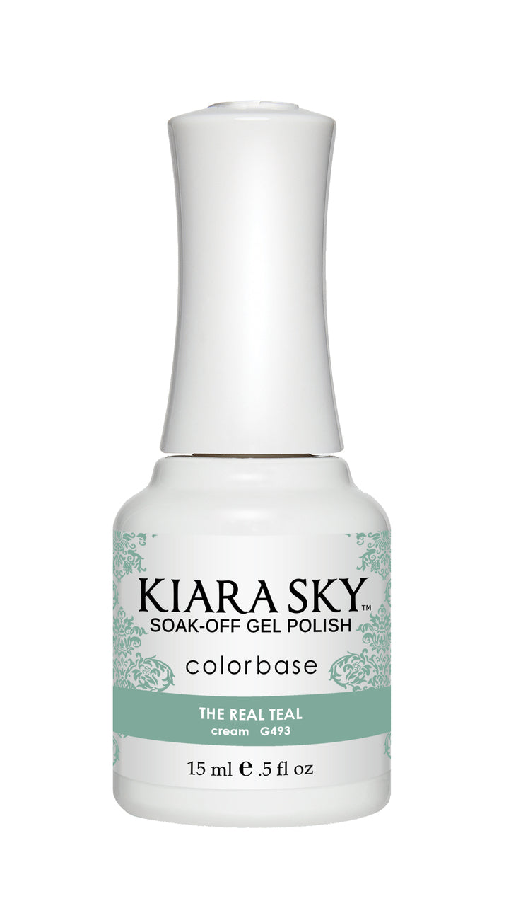 Kiara Sky Duo - Gel & Lacquer Combo - 493 THE REAL TEAL