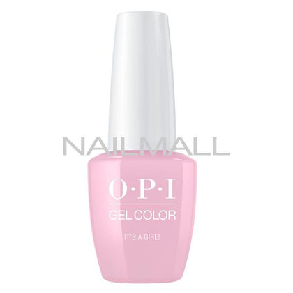 OPI GelColor - It's a Girl! - GCH39A