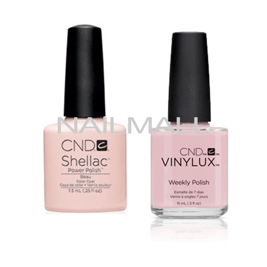 CND Shellac with matching Vinylux - Beau