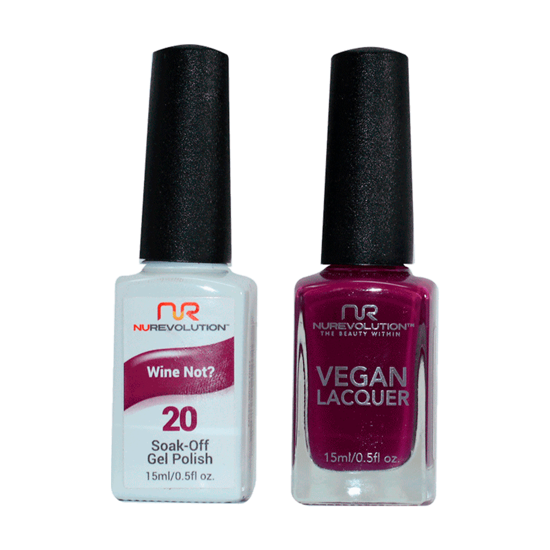 Wine Not? - NR20 - NuRevolution Duo - Gel & Lacquer Set