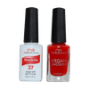 She's On Fire - NR37 - NuRevolution Duo - Gel & Lacquer Set