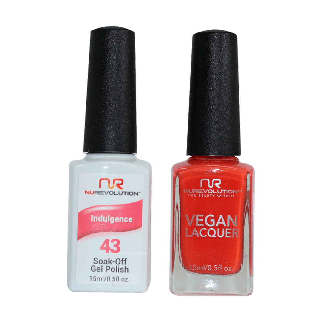 Indulgence - NR43 - NuRevolution Duo - Gel & Lacquer Set