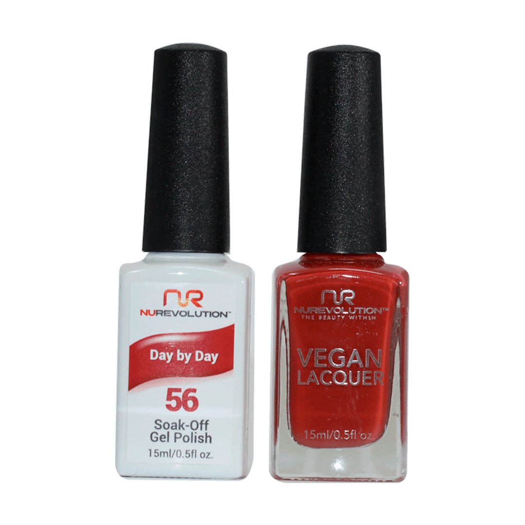 Pay By Day - NR56 - NuRevolution Duo - Gel & Lacquer Set