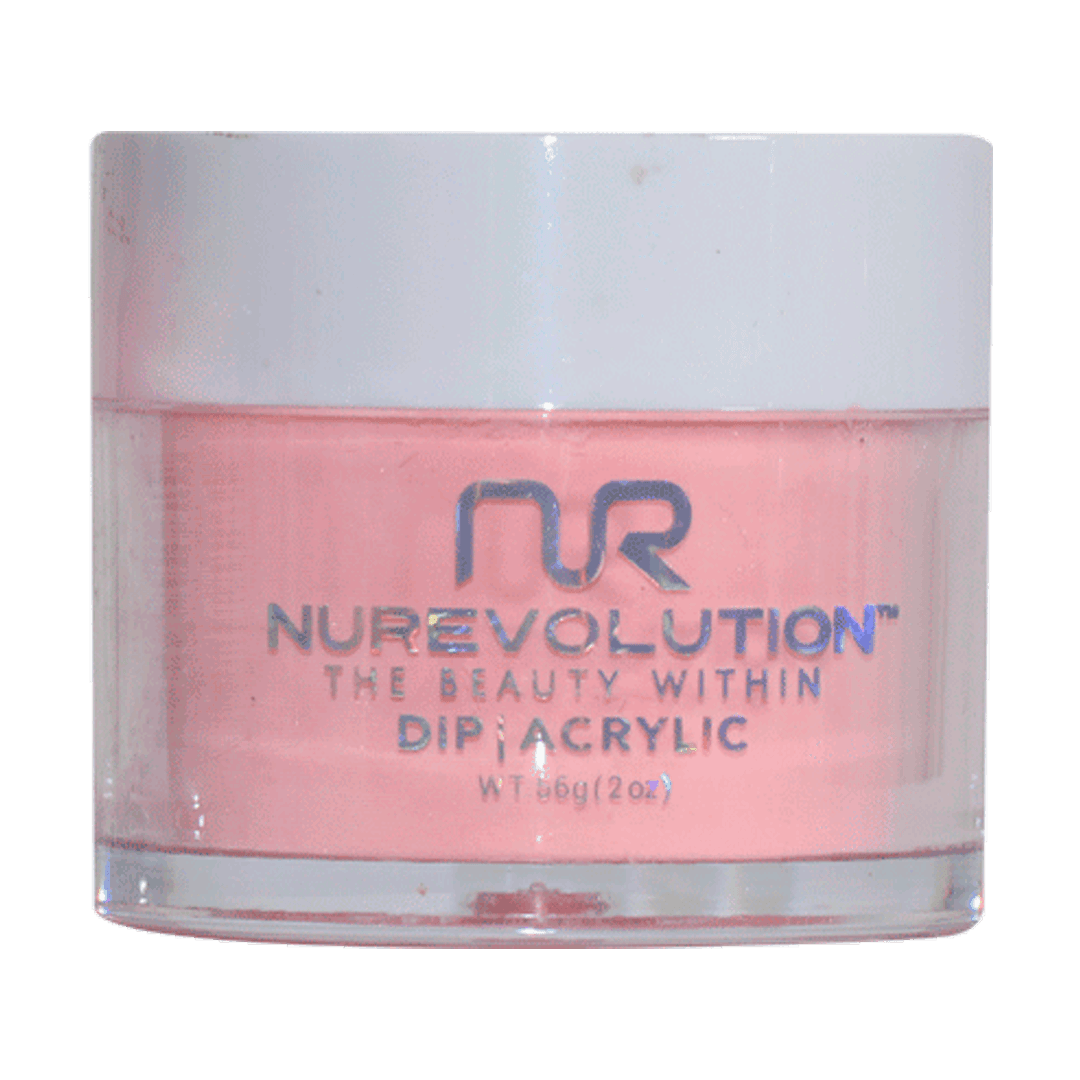 Pink Stain - MD62 - NuRevolution Color Dip Powder