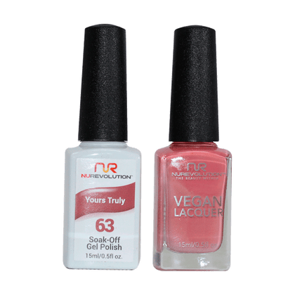 Yours Truly - NR63 - NuRevolution Duo - Gel & Lacquer Set