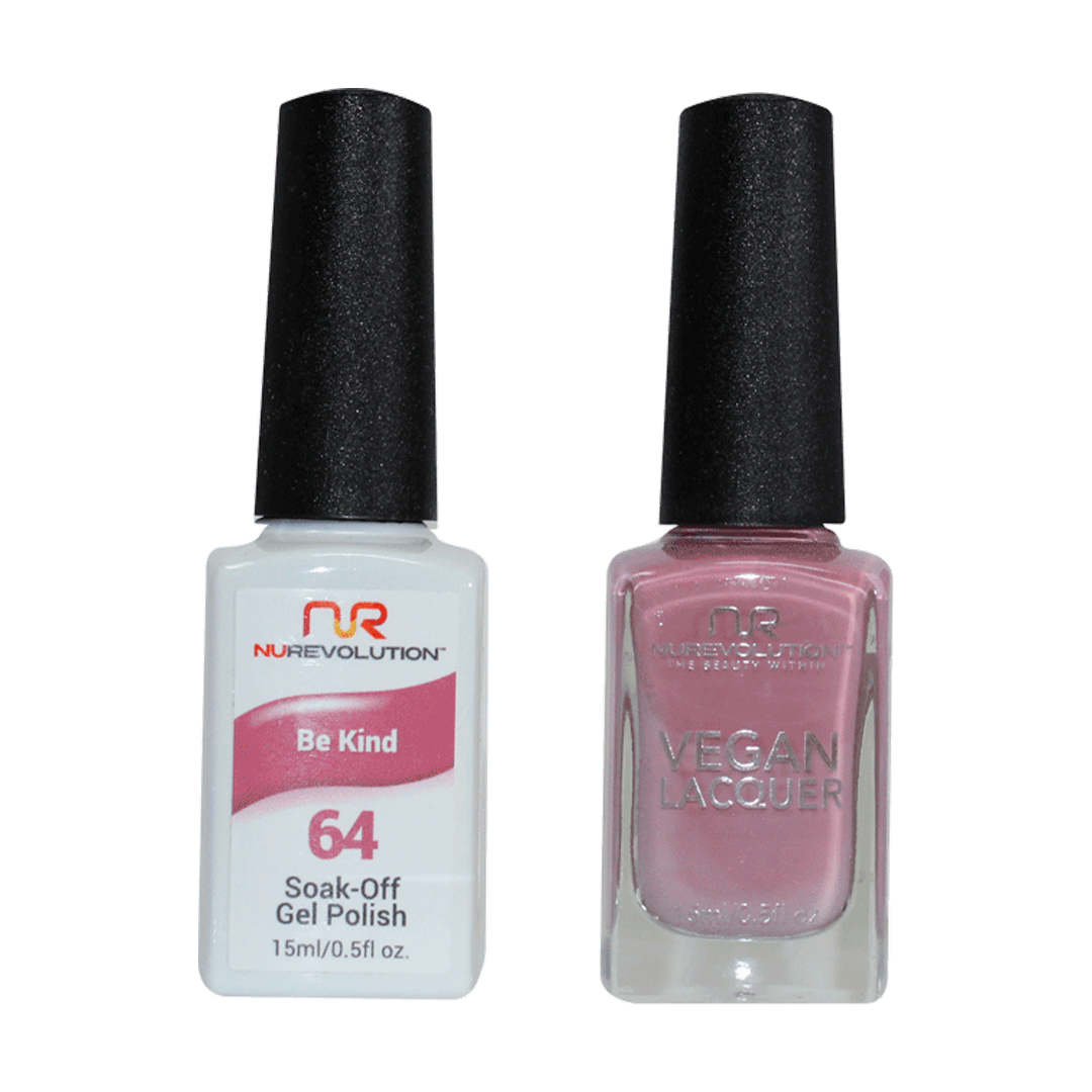 Be Kind - NR64 - NuRevolution Duo - Gel & Lacquer Set