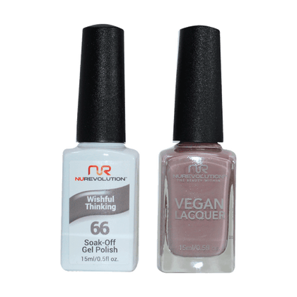 Wishful Thinking - NR66 - NuRevolution Duo - Gel & Lacquer Set