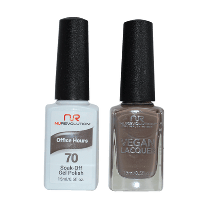 Office Hours - NR70 - NuRevolution Duo - Gel & Lacquer Set