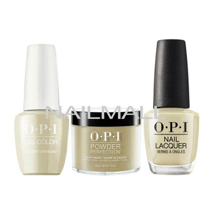OPI Trio Set - I58 - This Isn't Greenland