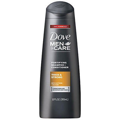 Classier: Buy DMC HAIR Dove Men+Care 2 in 1 Shampoo and Conditioner, Thick and Strong 12 oz