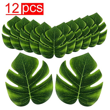 "Classier Prime: Buy Super Z Outlet Super Z Outlet Tropical Imitation Plant Leaves 8"" Hawaiian Luau Party Jungle Beach Theme Decorations for Birthdays, Prom, Events (12 Pack)"