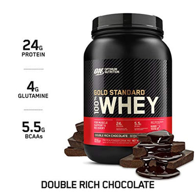 Classier: Buy Optimum Nutrition Optimum Nutrition Gold Standard 100% Whey Protein Powder, Double Rich Chocolate 2 Pound (Packaging May Vary)