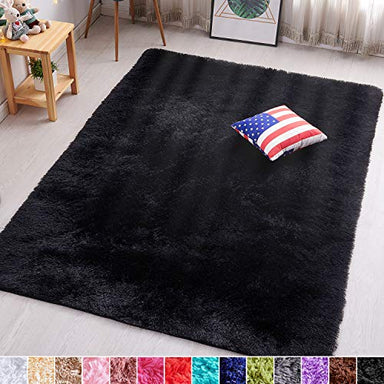 Classier Prime: Buy PAGISOFE PAGISOFE Blue Fluffy Shag Area Rugs for Bedroom 5x7, Soft Fuzzy Shaggy Rugs for Living Room Carpet Nursery Floor Girls Dorm Room Rug