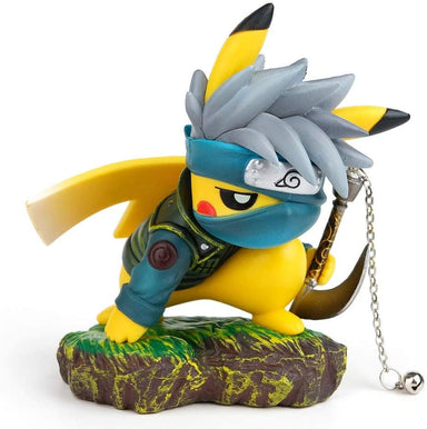 "Classier Prime: Buy DOMAN DOMAN Naruto Actions Figures GK Pikachu Cosplay Hatake Kakashi Figure Statues Collection Birthday Gifts PVC 4"" (Hatake Kakashi)"