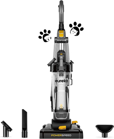 Classier Prime: Buy EUREKA Eureka PowerSpeed Bagless Upright Vacuum Cleaner, Pet Turbo, Black