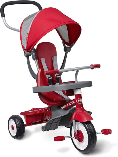 Classier Prime: Buy Radio Flyer Radio Flyer 4-in-1 Stroll 'N Trike, Red Toddler Tricycle for Ages 9 Months -5 Years
