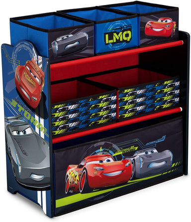 Classier Prime: Buy Delta Children Delta Children Design & Store 6 Bin Toy Storage Organizer, Disney , Mickey Mouse Hot Dog Hill (TB84721MM-1054)
