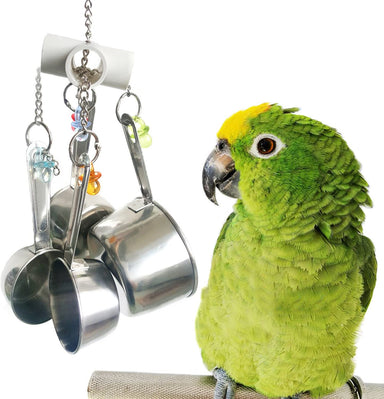Classier Prime: Buy BWOGUE BWOGUE 5pcs Bird Parrot Toys Hanging Bell Pet Bird Cage Hammock Swing Toy Hanging Toy for Small Parakeets Cockatiels, Conures, Macaws, Parrots, Love Birds, Finches