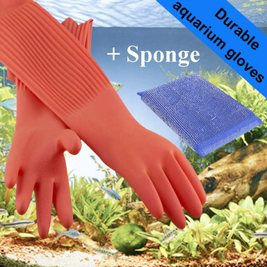 Classier Prime: Buy Wallko's pet store Wallko's pet store Aquarium Gloves for Fish Tank Maintenance – 22 inch Long Rubber Gloves Keep Your Hands and Arms Dry. Increases Comfort in Daily Aqua Maintenance. Medium Sized.