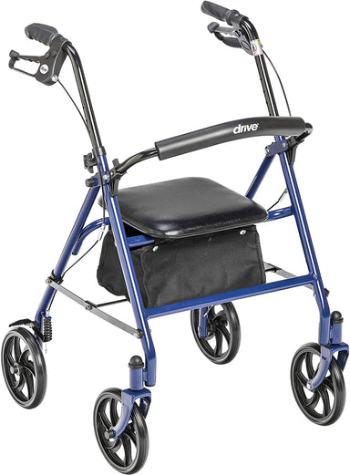 Classier: Buy Drive Medical Drive Medical Four Wheel Walker Rollator with Fold Up Removable Back Support