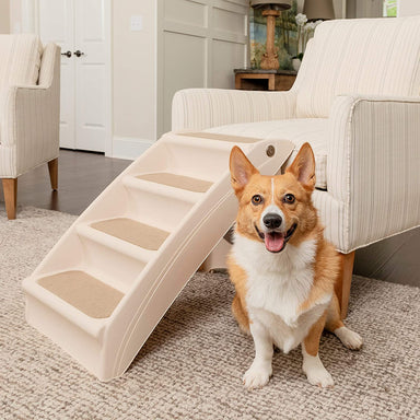 Classier Prime: Buy PetSafe PetSafe CozyUp Folding Pet Steps, Foldable Steps for Dogs and Cats, Best for Small to Large Pets