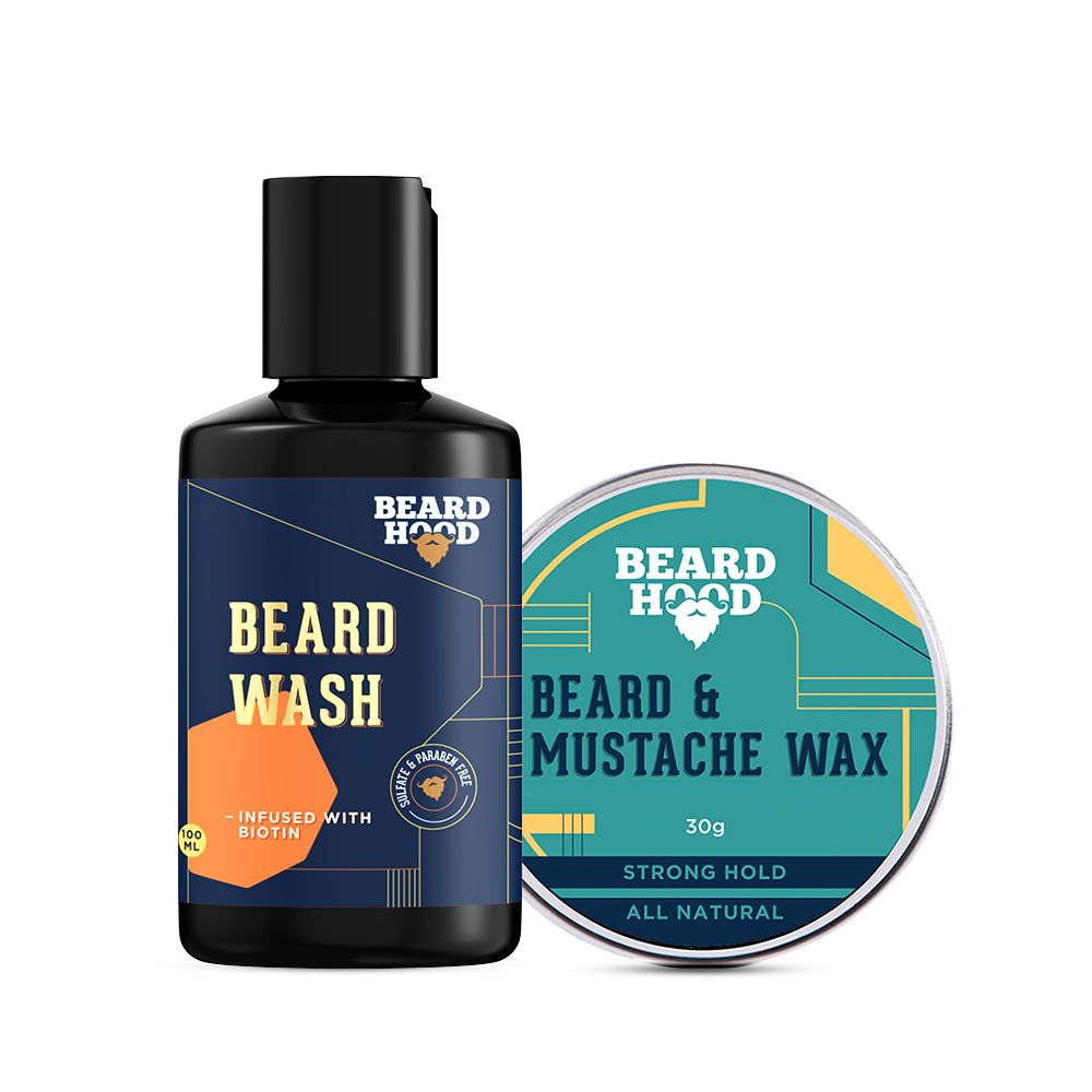 Beard and Mustache Wax & Beard Wash