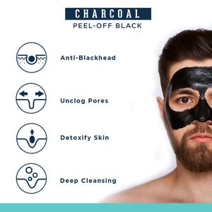 Tan Removal Scrub & Charcoal Peel Off Mask Combo