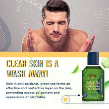 Load image into Gallery viewer, Green Tea Face Wash & Green Tea Body Wash Combo