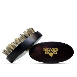 Boar Bristle Beard Brush with Handmade Rosewood Handle