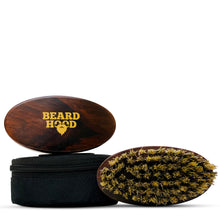 Load image into Gallery viewer, Boar Bristle Beard Brush with Handmade Rosewood Handle