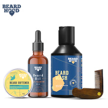 Load image into Gallery viewer, Grooming Kit (Café Valentino Beard Oil, Wash, Comb, Softener), Gift Box