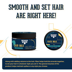 Extreme Bond Strong Hold Hair Wax, 100gm