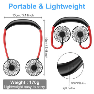 Vital® Portable Neck Fan