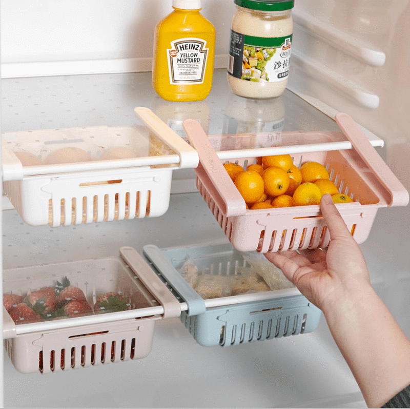 Effortless Fridge Storage Drawer