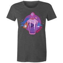 "Load image into Gallery viewer, Townie - ""Health Potion - Front Only"" - Women's Premium Short-sleeve"