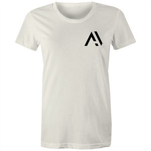 "Avsters - ""Pocket Logo"" - Premium Women's Short-sleeve"