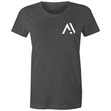 "Load image into Gallery viewer, Avsters - ""Pocket Logo"" - Premium Women's Short-sleeve"