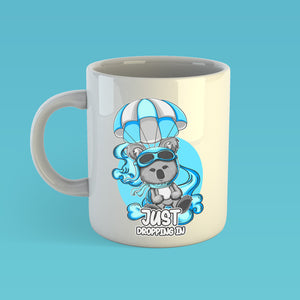 "Phizzi - ""Dropping In"" - 11oz Mug"
